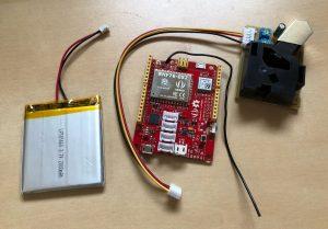 Arduino based pollution sensor